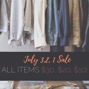 Other - July Sale all month!